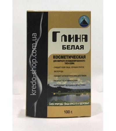 Глина БЕЛАЯ в упаковке 100 г