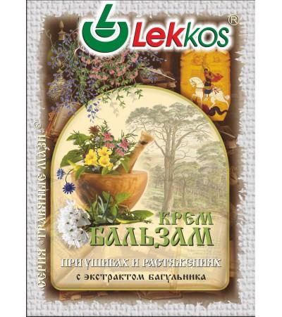 Крем-бальзам ЛЕККОС при ушибах и растяжениях 10 гр.