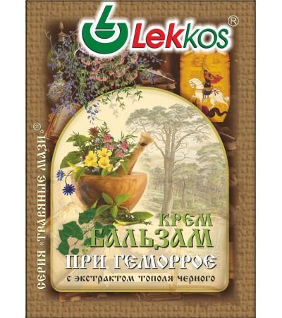 Крем-бальзам ЛЕККОС при геморрое 10 гр.