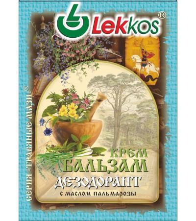 Крем-бальзам ЛЕККОС дезодорант при потливости 10 гр.