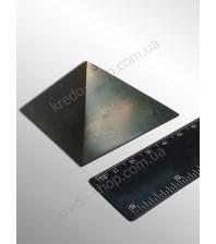 Пирамида из шунгита полированная 60x60мм