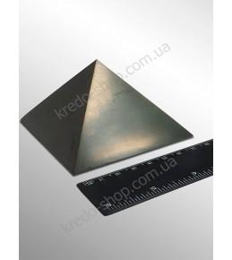 Пирамида из шунгита полированная 80x80мм