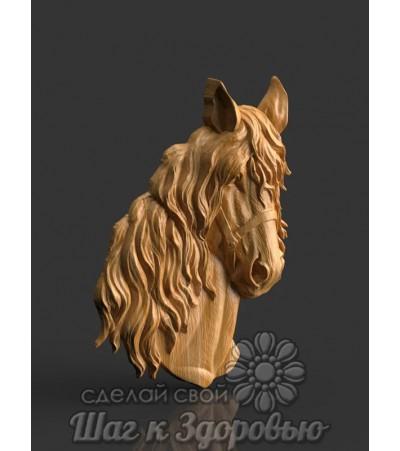 Барельеф Голова коня