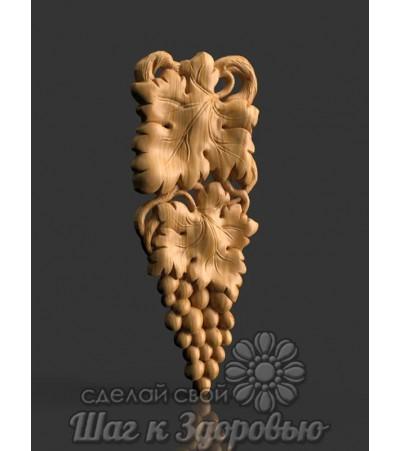 Барельеф Виноградная лоза 4