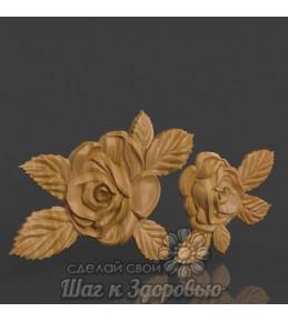 Барельєф троянди