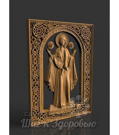 """Для Защиты Икона Пресвятая Богородица """"Нерушимая стена"""""""