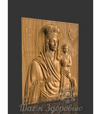 """Божией Матери """"Призри на смирение"""", икона резная из дерева"""