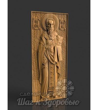 Икона Священномученика Симеона, резная из дерева