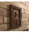 """Икона """"Иисус Христос Вседержитель"""", резная из дерева"""