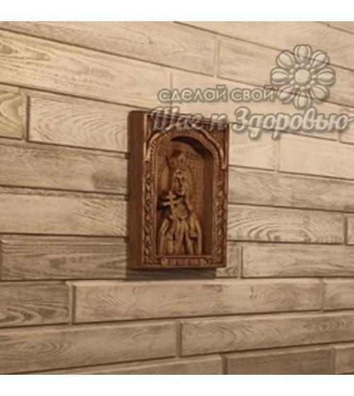 """Серия """"Царская семья"""", Икона резная из дерева """"Татьяна"""""""