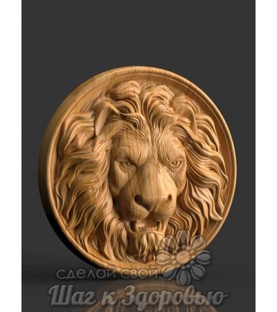 Панно Голова льва