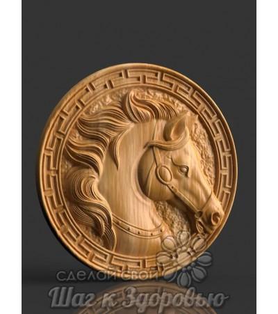 Панно Конь 2